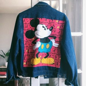 Mickey & Co. vintage denim jacket